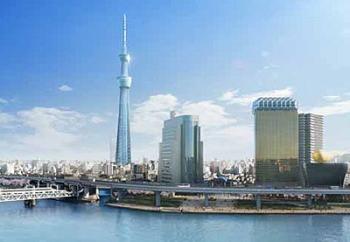 新東京タワーの名前がスカイツリーに