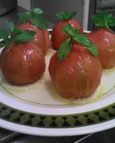 トマト の スイートサラダ