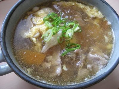 春雨と豚肉 スープ