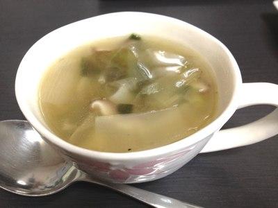 葉たまねぎのスープ レシピ