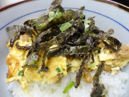 納豆 卵 豆腐の簡単 納豆焼きレシピ