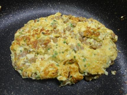 納豆 卵 豆腐の簡単 ふわふわ納豆焼きレシピ
