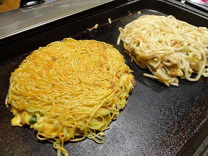 肉入りお好み焼き レシピ(作り方)3