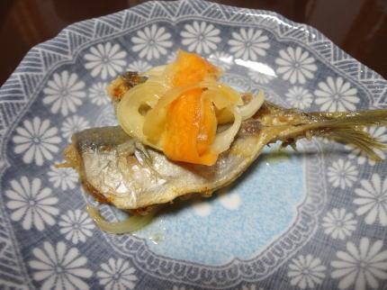 鯵の南蛮漬け レシピ(小アジ)、翌日に回せば柔らかく