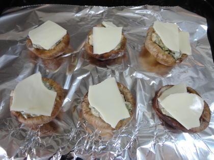 しいたけマヨチーズのっけ焼き 画像