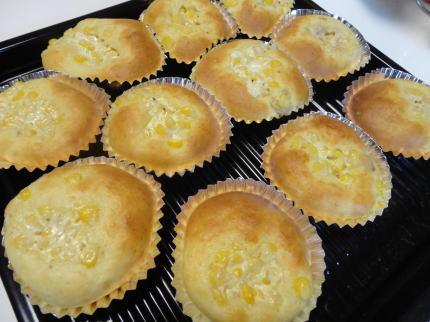 ツナコーンパン レシピ、ホットケーキミックス使って30分!