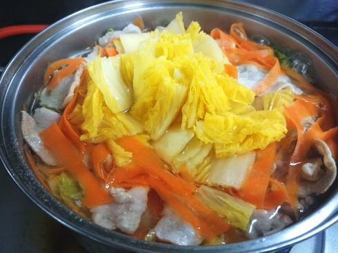 簡単な方の白菜ミルフィーユ鍋 画像