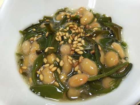 めかぶ納豆、混ぜるだけ簡単レシピ!最強ネバネバコンビ