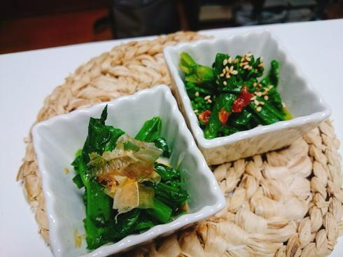 栄養豊富な菜の花、5分でできる2種類の和え物レシピ!
