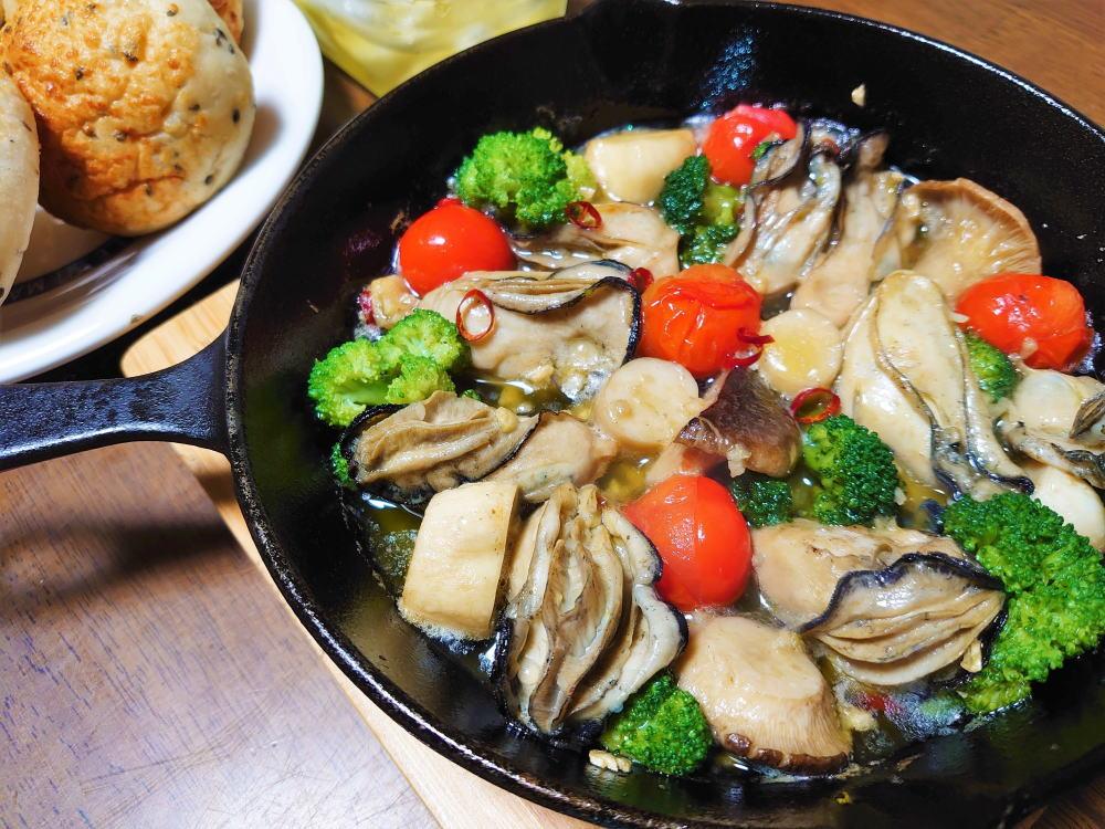 簡単!牡蠣のアヒージョ、旨味ギュッで病みつき